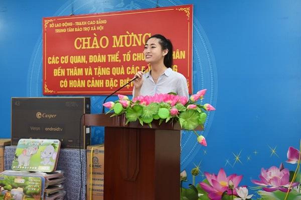 Hoa hậu Lương Thùy Linh khánh thành con đường hơn 2 tỷ tại Lũng Lùi