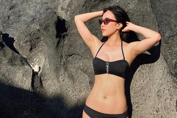 Diện bikini, Diệu Nhi gây bất ngờ khi khoe vóc dáng săn chắc