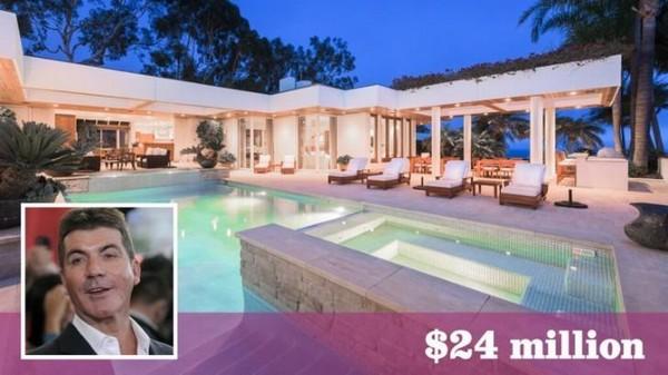 Biệt thự triệu đô thiết kế như resort nghỉ dưỡng của ông bầu Simon Cowell