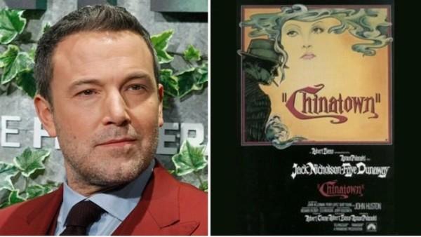 Nam tài tử Ben Affleck làm đạo diễn phim về tác phẩm kinh điển 'Chinatown'