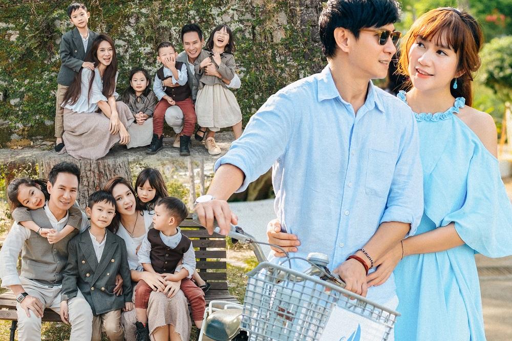 Lý Hải - Minh Hà: Gia đình 'to', hạnh phúc 'khổng lồ'