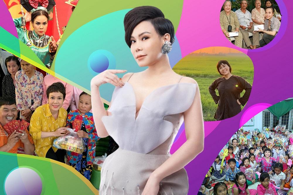 Việt Hương – Nữ nghệ sĩ 'nhỏ nhưng có võ'
