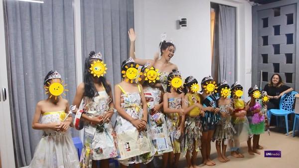 Hoa hậu Khánh Vân tặng 'vương miện' cho trẻ em bị lạm dụng