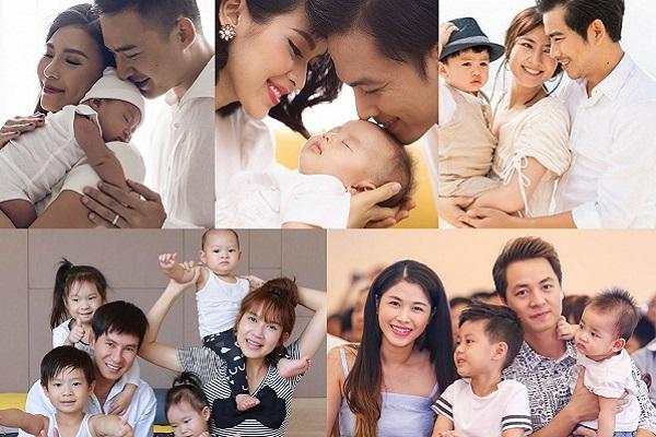 Ngày Gia đình Việt Nam, điểm danh 5 gia đình hạnh phúc nhất showbiz Việt