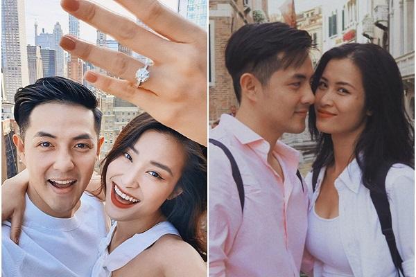 Hot: Đông Nhi nhận lời cầu hôn của Ông Cao Thắng
