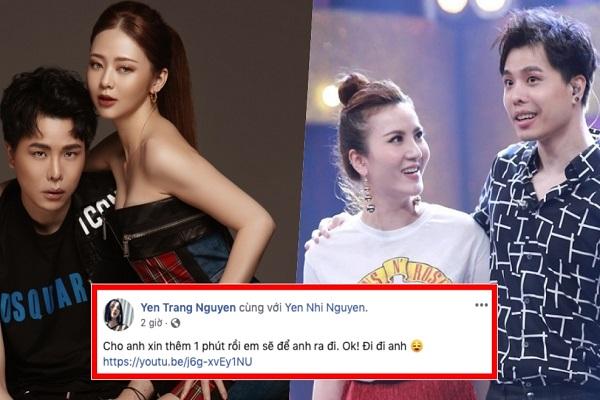Yến Trang 'đá xéo' khi Trịnh Thăng Bình hợp tác cùng người tình tin đồn?