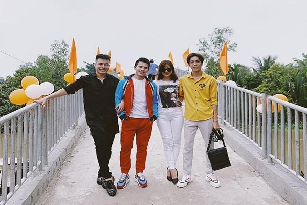 Nam Thư và Lê Dương Bảo Lâm về Vĩnh Long kiến tạo nhịp cầu