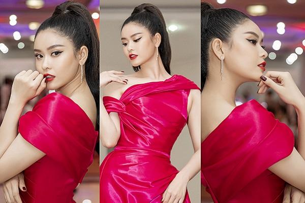 Trương Quỳnh Anh quyến rũ với sắc hồng, trở thành tâm điểm tại sự kiện