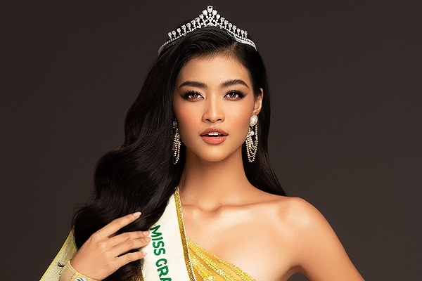 Kiều Loan 'bắn' tiếng Anh như gió khi giới thiệu về mình tại Miss Grand International 2019