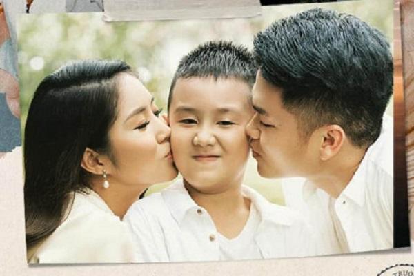 Nghẹn giọng khi Lê Phương kể chuyện con trai 'chấp nhận' Trung Kiên như bố ruột