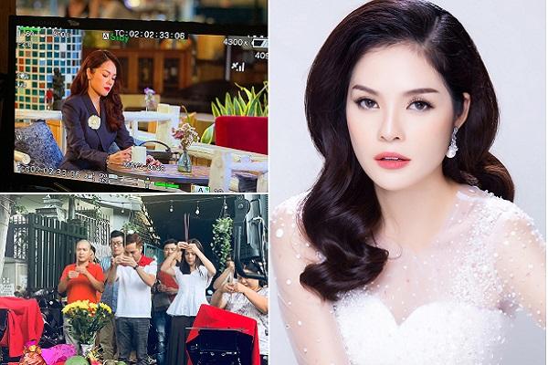 Dương Cẩm Lynh không nghỉ ngơi khi thực hiện 2 dự án phim nối tiếng