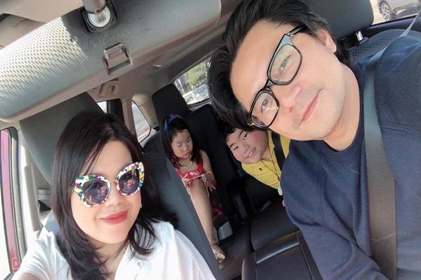 Trương Minh Cường chia sẻ khoảnh khắc hạnh phúc bên gia đình, đập tan tin đồn ly hôn