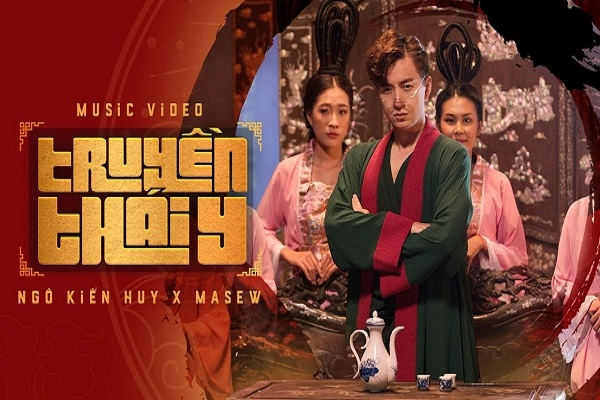 MV phong cách cổ trang của Ngô Kiến Huy lọt top 1 trending YouTube