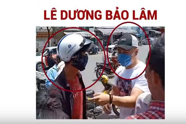 Phát cơm từ thiện, Lê Dương Bảo Lâm bị giang hồ đánh giữa đường