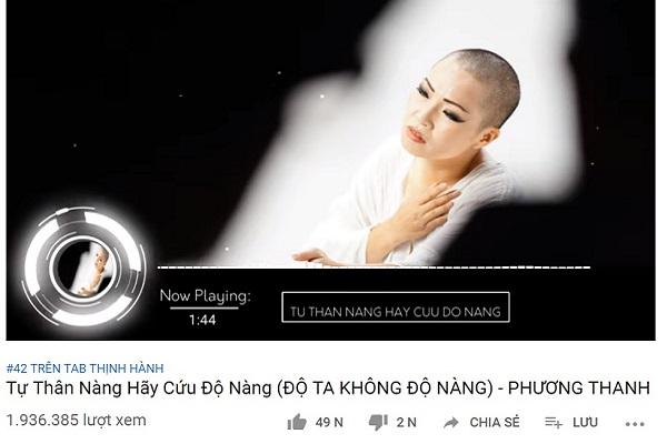 Phương Thanh tạo trending khi cải biên ca khúc 'Độ ta không độ nàng'