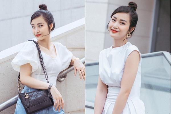 Đông Nhi đẹp rạng rỡ, gu thời trang ngày càng 'thăng hạng'