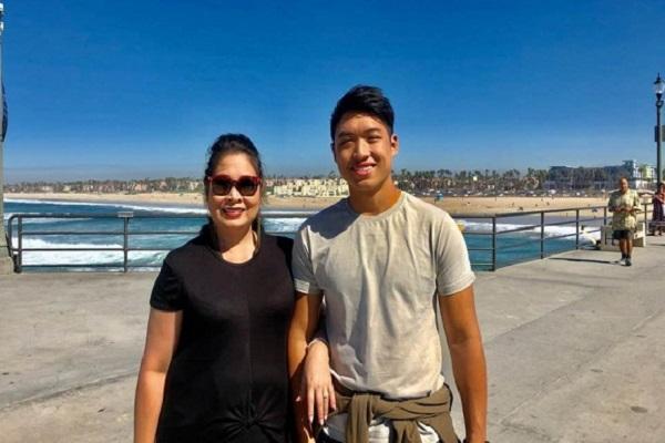Nét điển trai của con trai NSND Hồng Vân, người vừa trúng tuyển Đại học tại Mỹ
