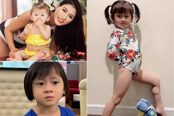 Gần 4 tuổi, con gái Trang Trần đã bộc lộ tố chất người mẫu