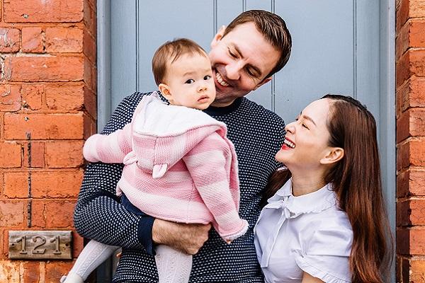Ngắm nhìn hạnh phúc của gia đình Lan Phương tại trời Tây