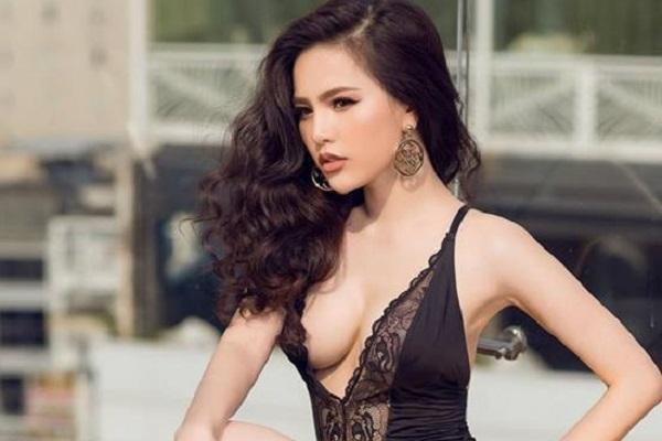Nhan sắc và vẻ ngoài gợi cảm của hotgirl đẹp nhất Châu Á - Phi Huyền Trang