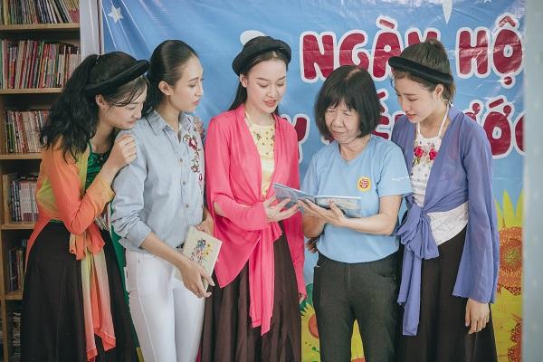 Thí sinh Miss World Vietnam 2019 lan tỏa lòng nhân ái