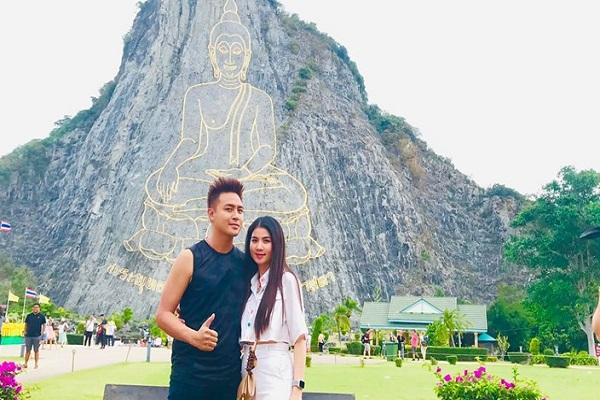 Kha Ly - Thanh Duy đưa gia đình khám phá núi Phật Sơn