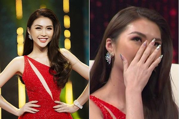 Hoa hậu Tường Linh khóc nghẹn khi kể chuyện bị lừa làm người thứ ba