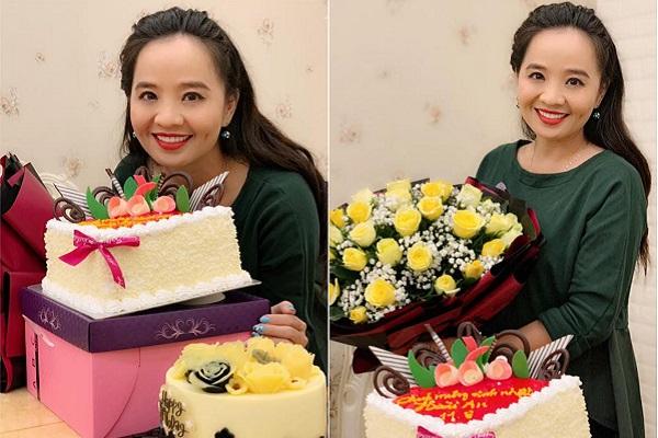 Diễn viên Hoài An hạnh phúc được tổ chức sinh nhật