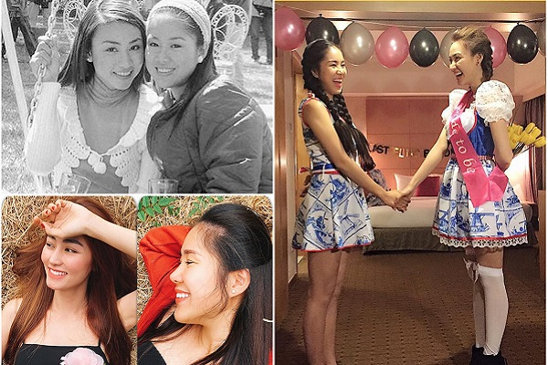 Lê Phương, Ngân Khánh và tình bạn đẹp hơn 10 năm qua