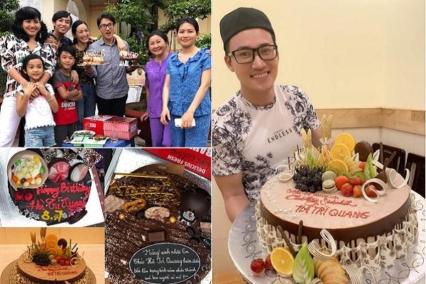 Hà Trí Quang được mừng sinh nhật ngay trên phim trường