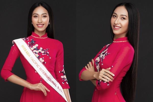 Người đẹp Thu Hiền đại diện Việt Nam chinh phục Miss Asia Pacific International 2019