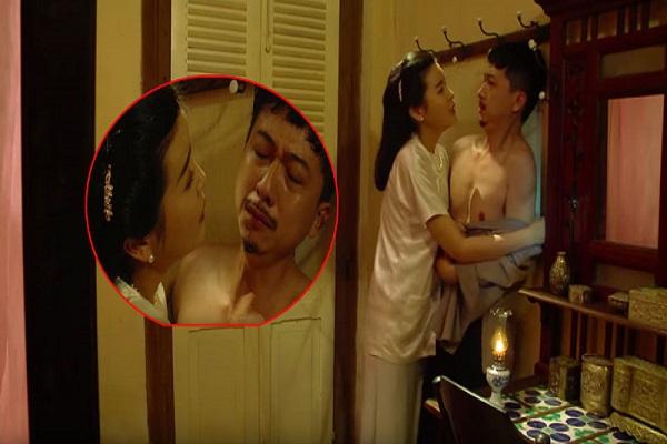 Diễn cảnh bị Cao Thái Hà 'cưỡng hiếp', Hứa Minh Đạt nói gì?