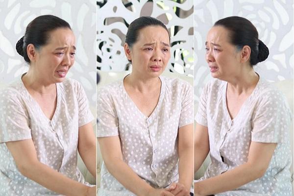 Từng chữa tuyến lệ, Hoài An tiếp tục khóc như mưa trong phim mới