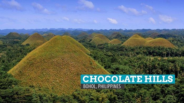 Những ngọn đồi Chocolate nổi tiếng ở đảo Bohol