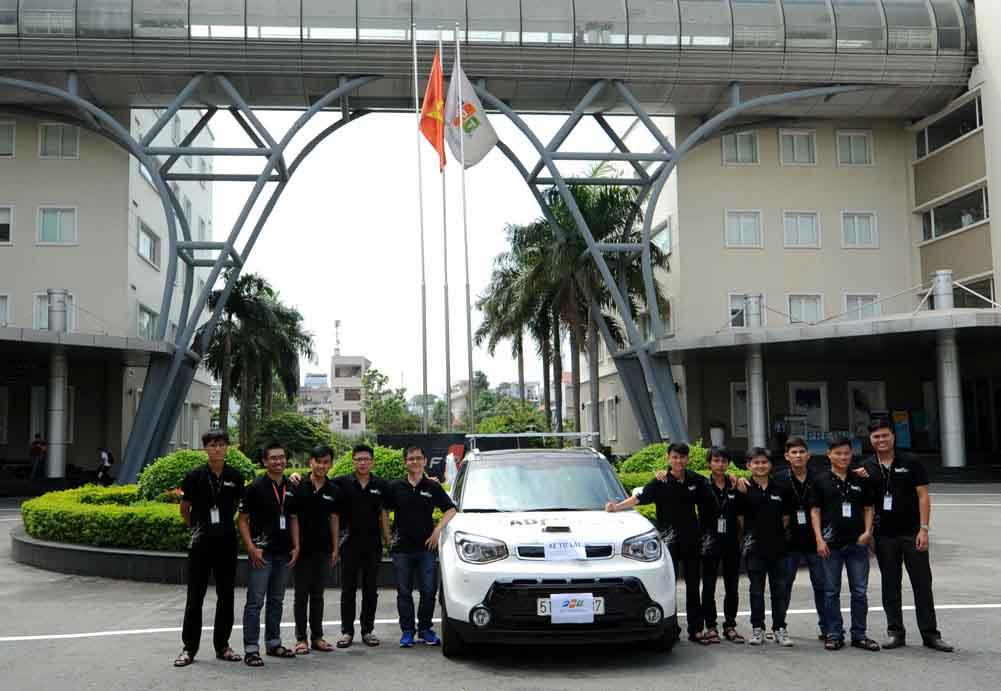 FPT được cấp phép thử nghiệm xe hơi tự lái trong đường nội bộ