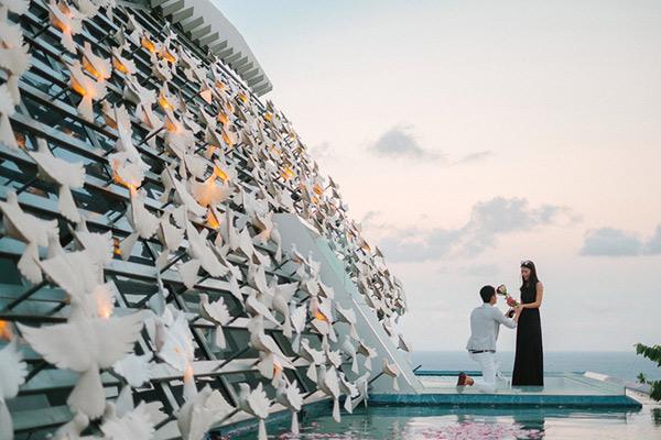 Những địa điểm lãng mạn nhất thế giới để ngỏ lời với một nửa của mình