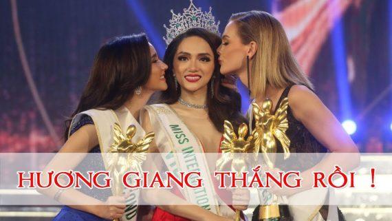 Hương Giang Idol Ghi Dấu Ấn Lịch Sử, Chiến Thắng Hoa Hậu Chuyển Giới 2018