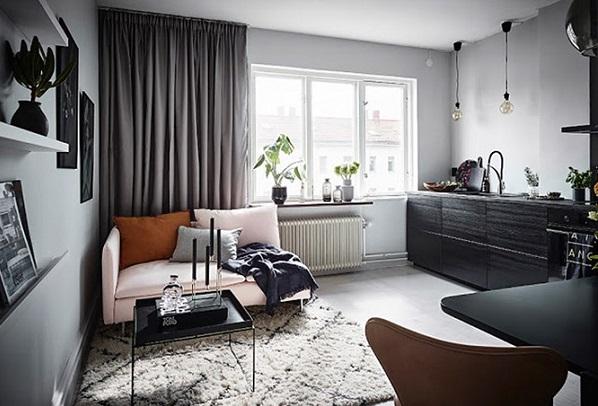 Trang trí nội thất trong căn hộ 26 m2 khiến nhiều người mê mẩn