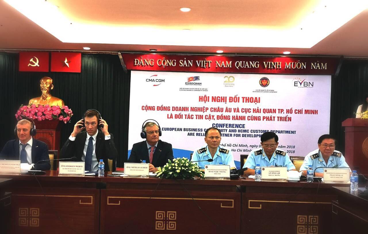 Hải quan TPHCM đối thoại với 100 doanh nghiệp châu Âu