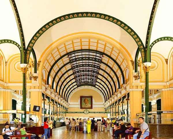Khám phá Bưu điện trung tâm Sài Gòn - chứng nhân lịch sử