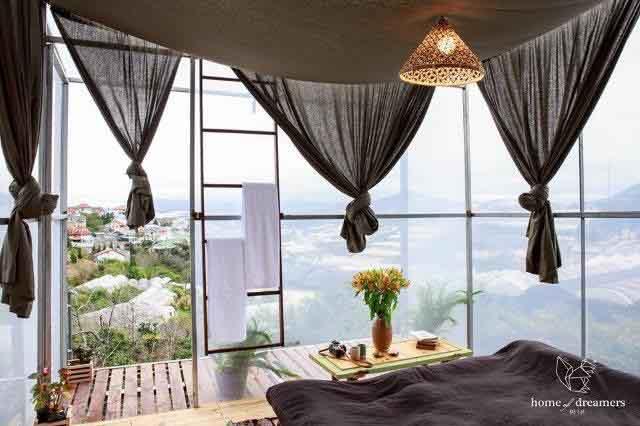 Ngất ngây với những chỗ lưu trú tuyệt đẹp ở Đà Lạt