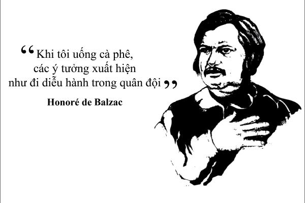 """Kỳ 17: Đại văn hào Honoré de Balzac """"Khi tôi uống cà phê, các ý tưởng xuất hiện"""""""