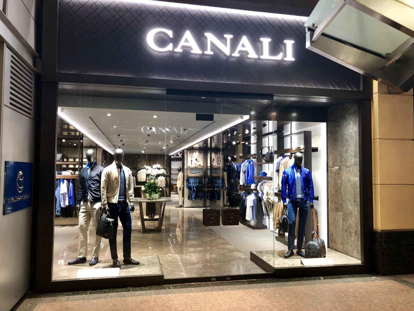 Canali - Thương hiệu thời trang đẳng cấp của Ý khai trương cửa hàng đầu tiên