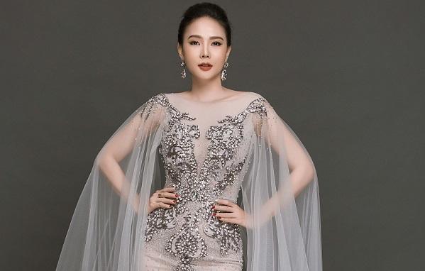 Á hậu Dương Yến Ngọc dự thi Hoa hậu Quý bà Hòa bình Thế giới 2017