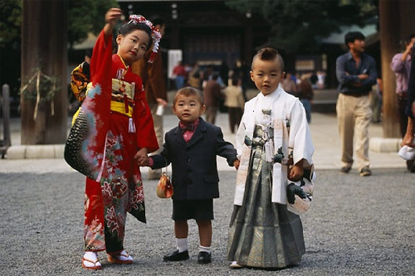 Độc đáo lễ hội Shichi-Go-San, Nhật Bản