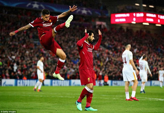 Liverpool và Salah lập nên nhiều kỷ lục sau màn vùi dập Roma