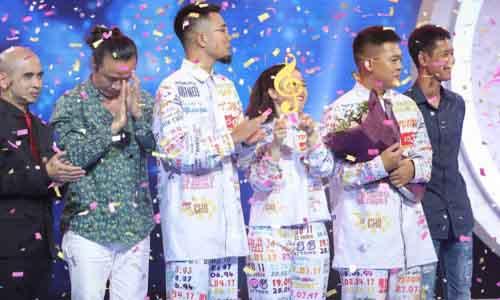 Với điểm số tuyệt đối, Lộn Xộn Band xuất sắc giành quán quân Sing My Song