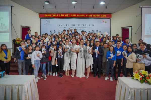 'Hành trình từ trái tim' mang đến niềm hứng khởi cho sinh viên Đà Lạt
