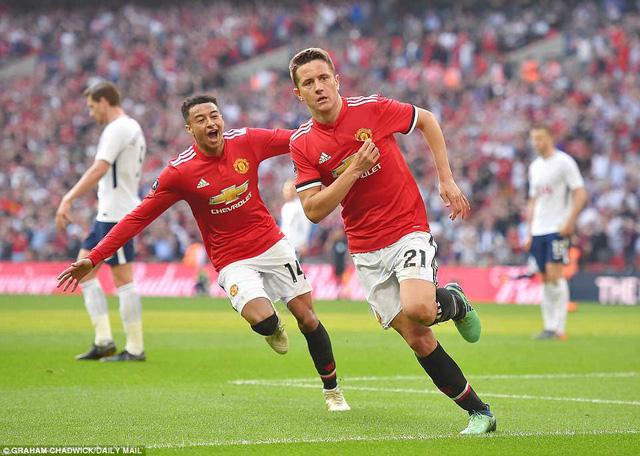 Man Utd 2-1 Tottenham: 'Quỷ đỏ' ngược dòng vào chung kết FA Cup