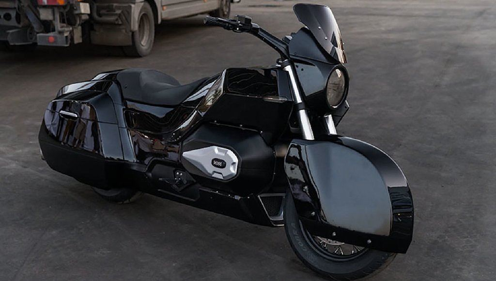 """Tổng thống Putin sắp có mô tô dẫn đoàn Rostec Izh """"hàng thửa"""""""